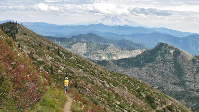 Photo: Mt. Margaret area with Adams in distance