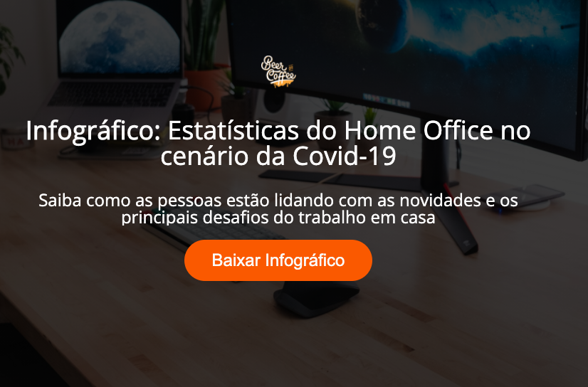 Infográfico: Estatísticas do Home Office no cenário da Covid-19