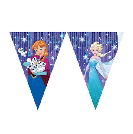 Girlang, Frozen 9 flaggor