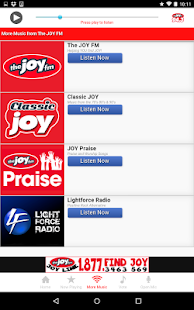 The JOY FM Alabama- screenshot thumbnail