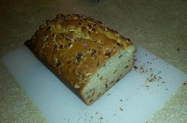 Banana Nut Bread - Finished And Tested! Great With A Butter Spread, Too.