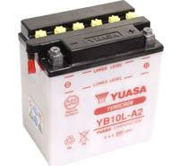 YUASA MC batteri YB10L-A2 11Ah lxbxh=135x90x145mm