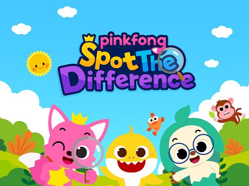 Pinkfong Spot the difference : Finding Baby Shark 2.5 screenshots 6
