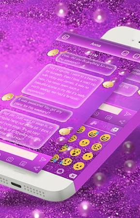 Glitter Pearl Keyboard Theme 1.0.2 screenshot 2086969