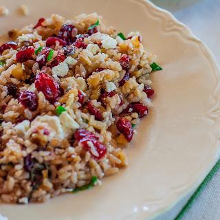 Brown Rice Salad With Cranberries Recipes.