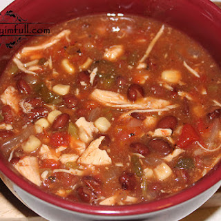 Spicy Chicken Tomato Soup.
