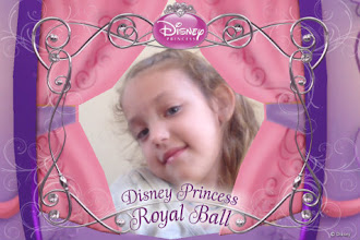 Photo: A cute picture I took of my princess from the Royal Ball App!