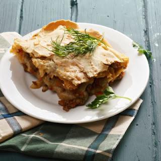 Vegetarian Crockpot Lasagna