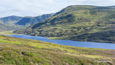 Photo: Effects of Glaciation at Loch Callater