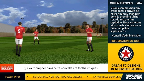 Dream League Soccer Capture d'écran