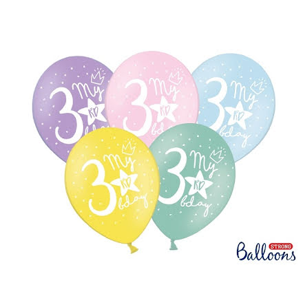 Ballonger My 3rd birthday