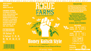 Rogue Farms Honey Kolsch