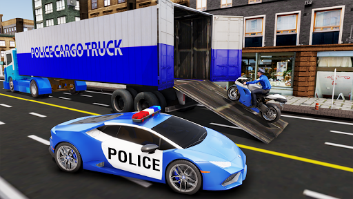 US Police Transporter Plane Simulator 2.1 screenshots 2