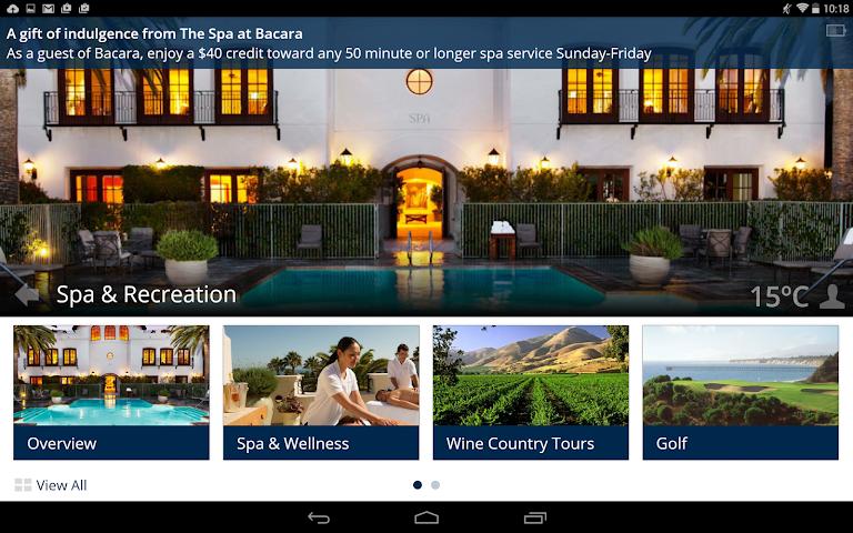android Bacara Resort and Spa Screenshot 5