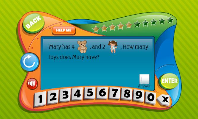 First Grade Math - screenshot