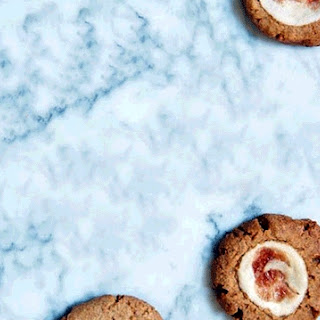 Cheesecake Thumbprint Cookies