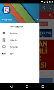 Gazeteler- screenshot thumbnail