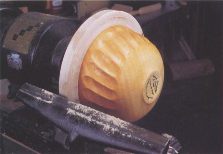 Jam chucks are used primarily to hold small items in the lathe, but bowls can also be jam chucked to allow turning of the base