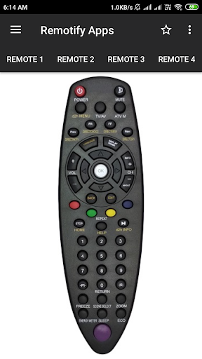 Videocon d2h Remote Control (8 in 1) screenshots 2
