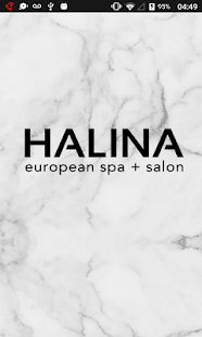 Halina European Spa + Salon Team App - náhled