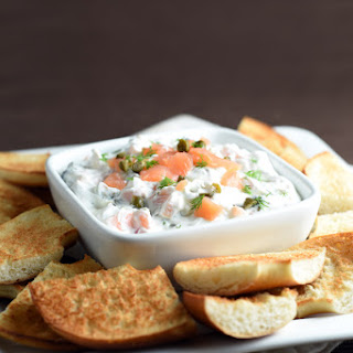 Cream Cheese and Lox Dip.