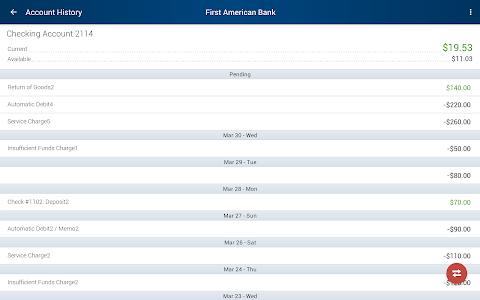 First American Bank Mobile screenshot 6
