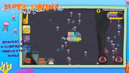 Télécharger Gratuit Super Shrimp: Ocean Platformer apk mod screenshots 5