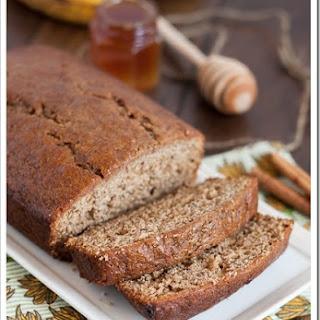 Honey Cinnamon Banana Bread.