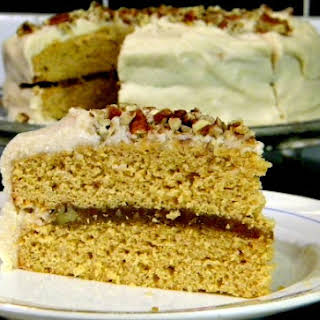 Southern Caramel Cake with Jack Daniels.