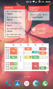 TimeTable++ Stundenplan Screenshot