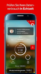 MeinVodafone Screenshot