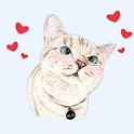 WAStickerApps Cat Kitten Stickers For WhatsApp 😻 icon