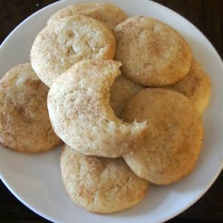 Gluten-free Vanilla Pudding Snickerdoodle Cookies