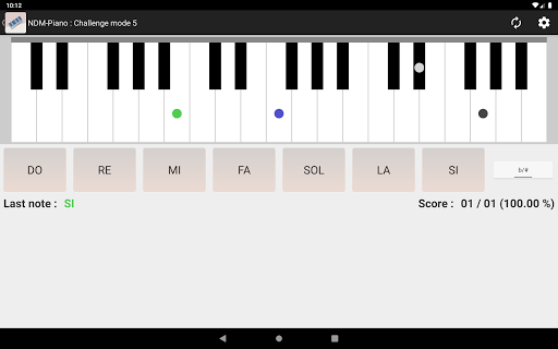 NDM - Piano (Learning to read musical notation)  screenshots 4