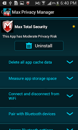 Max Privacy Manager screenshot 5