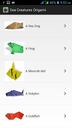 海洋生物折纸