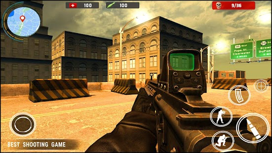 Critical Strike fps : Call of Warfare Duty Ops - náhled