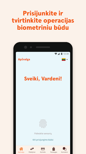 Swedbank Lietuva - screenshot