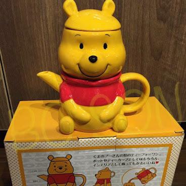 Winnie the Pooh 茶壺連杯