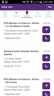NYS Veterans- screenshot thumbnail