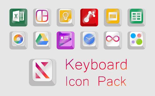 Keyboard icons - náhled