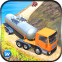 Offroad Oil Tanker Truck Transport Simulation Game icon