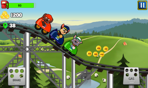 Paw Puppy Sky RollerCoasters Patrol - náhled