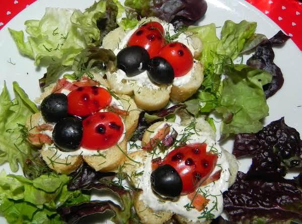 Ladybug Love Tea Sandwiches