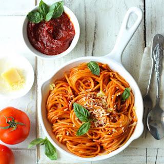 20 Minute Red Sauce Spaghetti Recipe