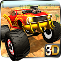 4x4 offroad Monster Truck Impossible Desert Track icon