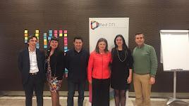 La concejala de Turísmo, Luisa Barranco, en la reunión de gestores.