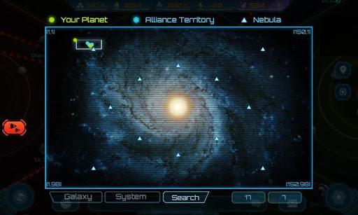 Galaxy Clash: Empire évolué  captures d'écran 2