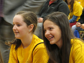 Photo: Lauren & Kylee at the Youth Leadership Summit