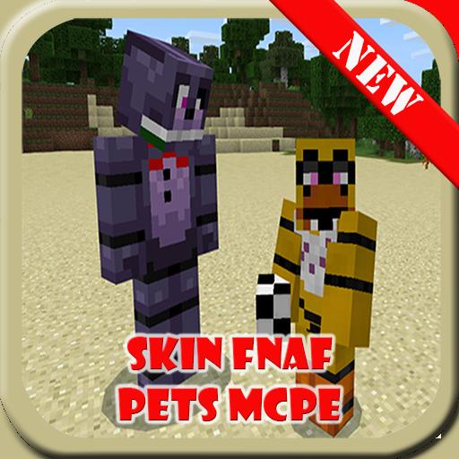 Skin FNAF Pets Addon for MCPE